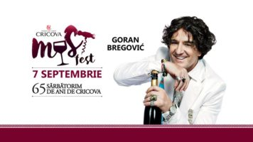 WINERY Cricova with SakuraTur SRL invites you at MUST fest!2017