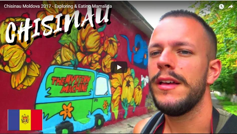 Британец опубликовал видео о своем  визите  в Молдову
